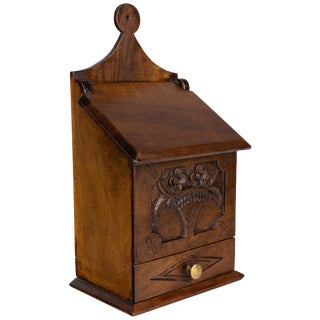 19th Century Provencal Salt Box or Boite a Sel For Sale