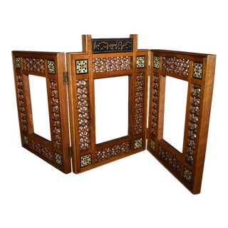Antique Wooden Syrian Picture Frames or Mirror Frames For Sale