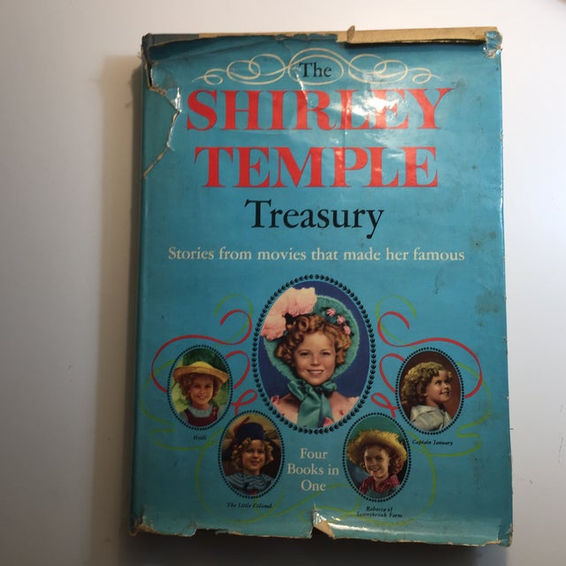 "1959 ""The Shirley Temple Treasury"" Book For Sale - Image 11 of 11"