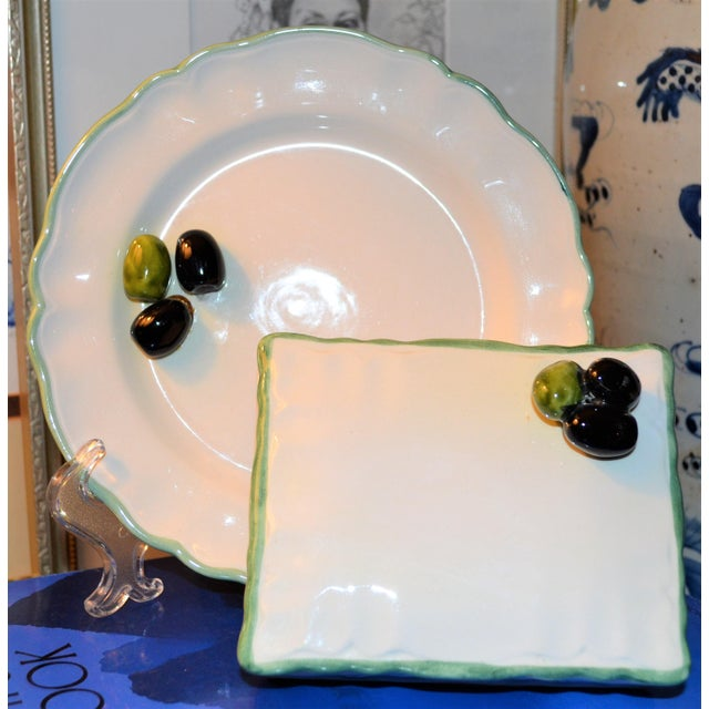 Mancioli Porcelain Trompe l'Oeil For Sale In Houston - Image 6 of 11