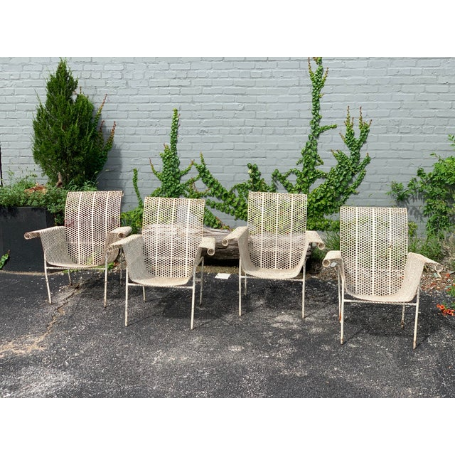 French Garden Chairs - Set of 4 For Sale - Image 10 of 10