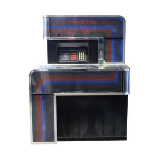 1970s Vintage Seeburg Quadraphonic Sound Digital Jukebox