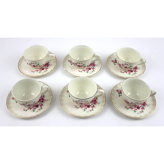 This remarkable and rare set of 1940's W.S. George China will be a perfect selection for your next tea party. The...