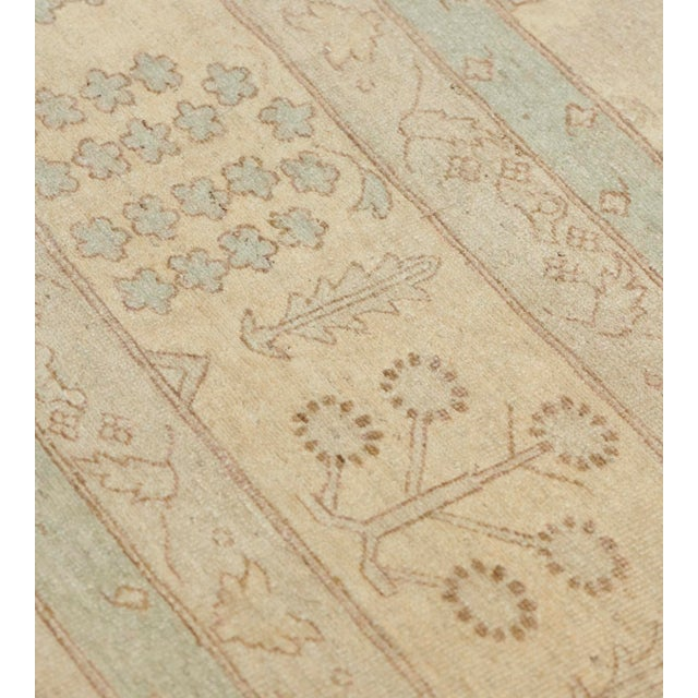 Textile Handwoven Tabriz Style Wool Revival Rug For Sale - Image 7 of 8