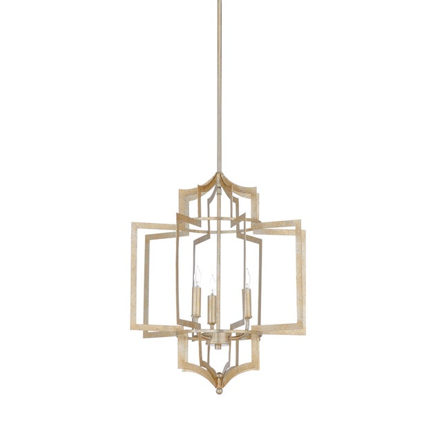 Contemporary Wildwood Lamps Dover Chandelier For Sale - Image 3 of 3