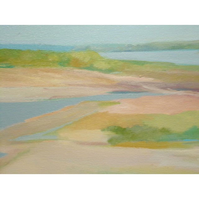 """Expressionism James Conaway """"City Park Series Iv"""" Signed Original Oil Painting on Canvas For Sale - Image 3 of 7"""
