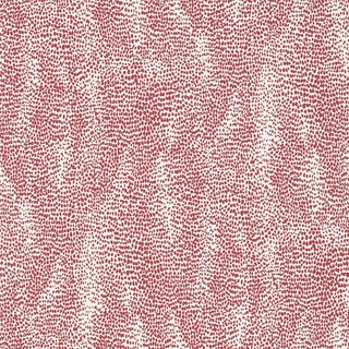Sample - Schumacher Drizzle Wallpaper in Rouge For Sale