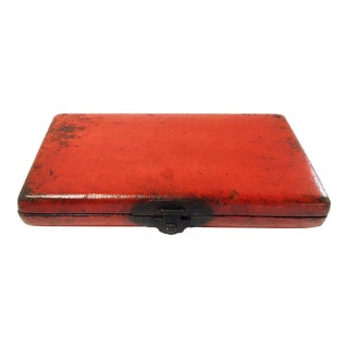 Edo-Meiji Lacquer Letter Box For Sale