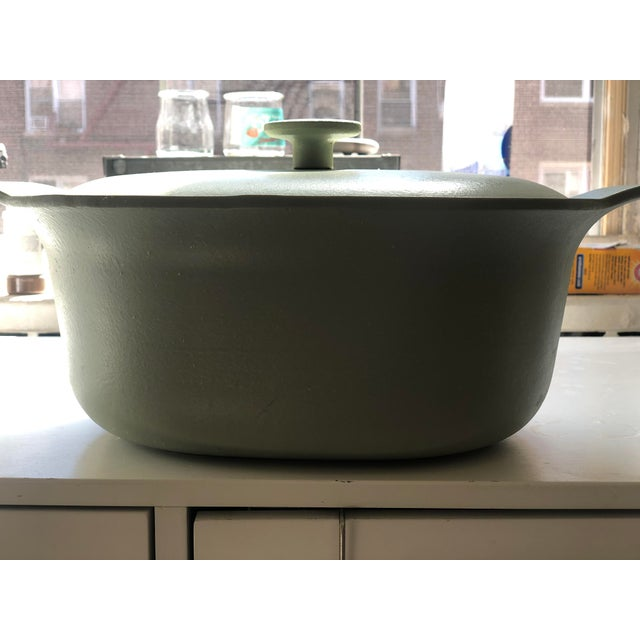 Berghoff Cast Iron Oval Casserole For Sale - Image 4 of 4
