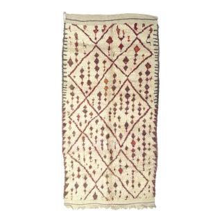 Vintage Moroccan Talsint Rug - 6′8″ × 11′ For Sale
