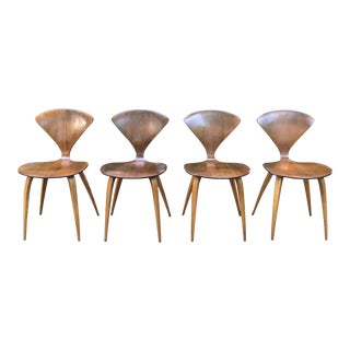 Norman Cherner for Plycraft Chairs - Set of 4 For Sale