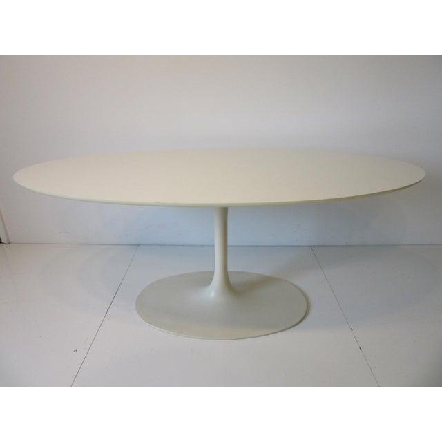 Burke Tulip Desk / Dining Table for Burke International For Sale - Image 11 of 11