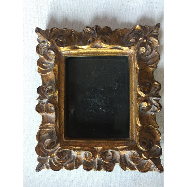 Vintage Italian Composite Small Photo Frames - a Pair - Image 3 of 5