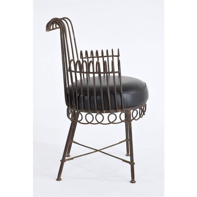 Mid-Century Modern French Mid-Century Cap d'Ail Chair by Mathieu Matégot, 1950's For Sale - Image 3 of 11