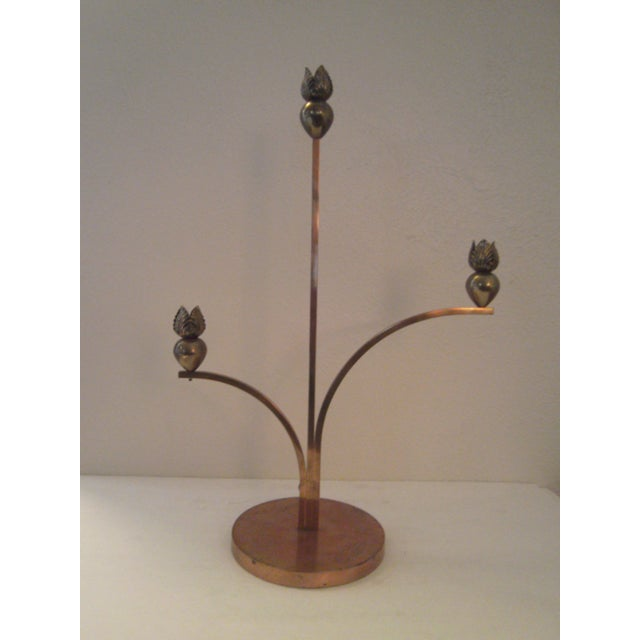 Cyrille Steiner Arts and Crafts Candlestick - Image 2 of 8