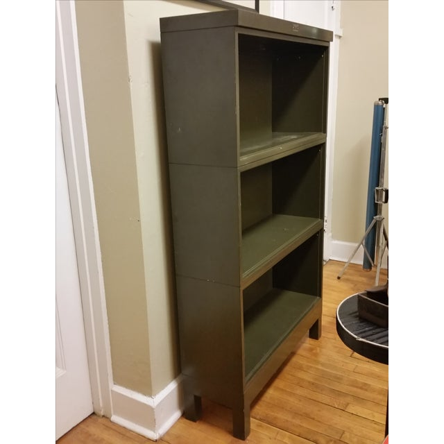Industrial Open Stacking Bookcase For Sale In New York - Image 6 of 9