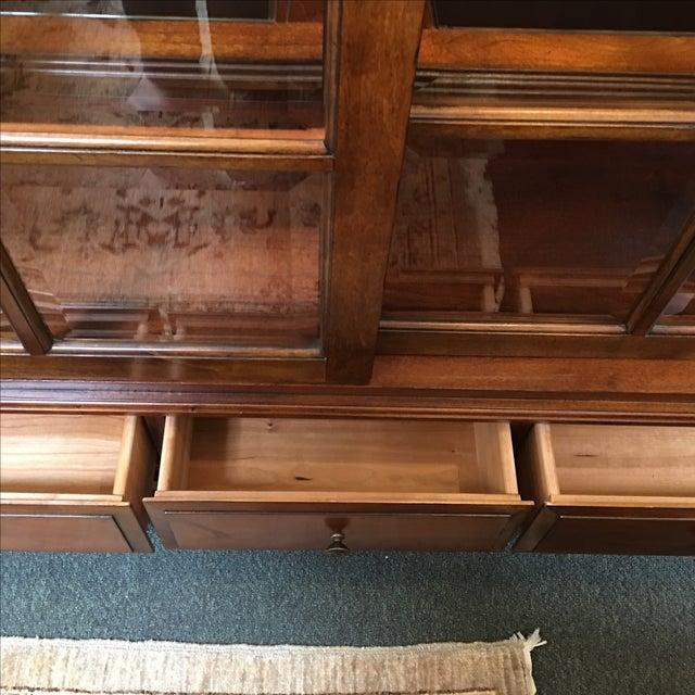 Henley Cherry Sliding Door Book Case - Image 11 of 11