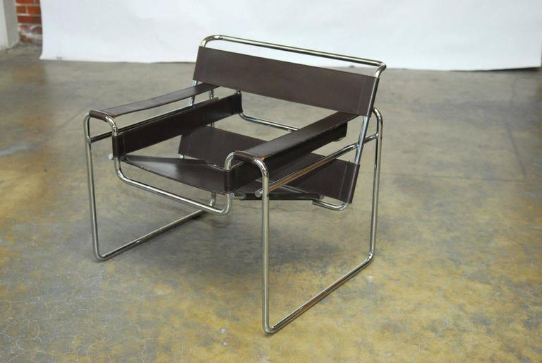 Marcel Breuer Mid Century Wassily Chair For Stendig   Image 2 Of 9