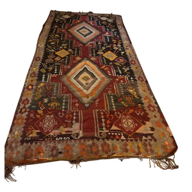 "Afghani Carpet - 5' x 11'5"" - Image 1 of 6"