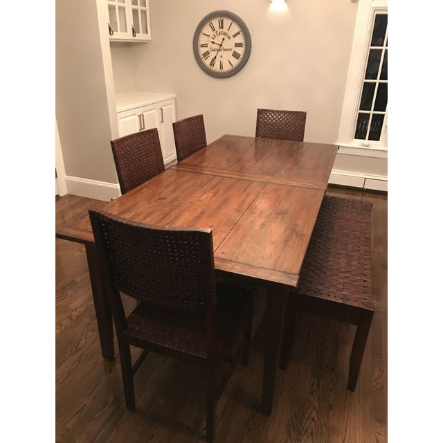 Farm Table Dining Set - Image 3 of 4