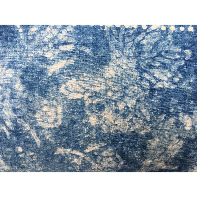 Antique Bleached Batik Pillow - Image 5 of 7