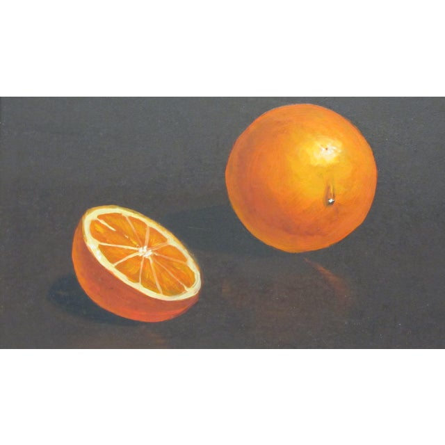 """Oranges"" Still Life- Mid-Century Signed Original Oil Painting by Jon Helland - Image 3 of 6"