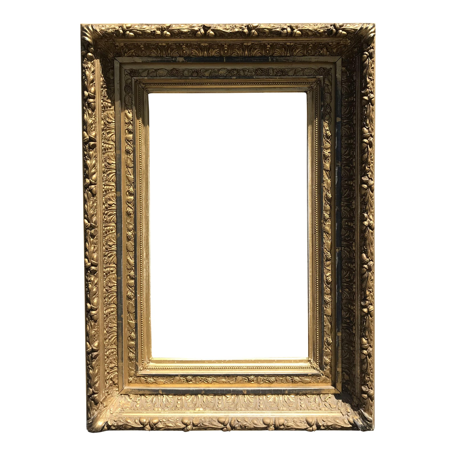 1880s American Giltwood Frame for Painting or Mirror | Chairish