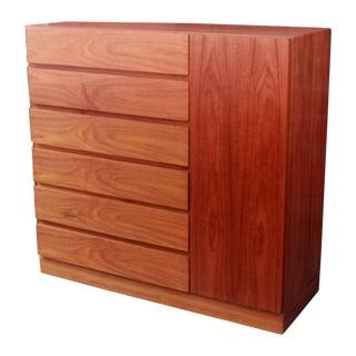 Arne Iversen Teak Gentleman's Dresser