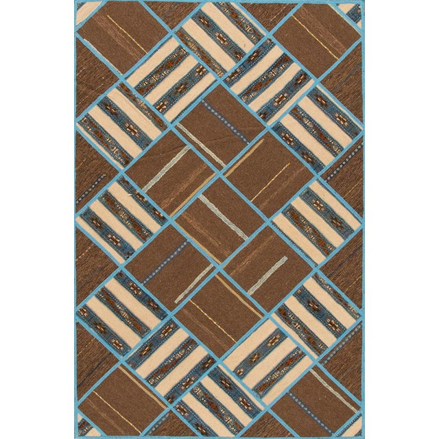 "Apadana - Persian Flat-weave, 5'6"" x 7'9"" - Image 3 of 4"