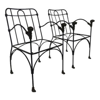 Gio Giacometti Armchairs - a Pair For Sale