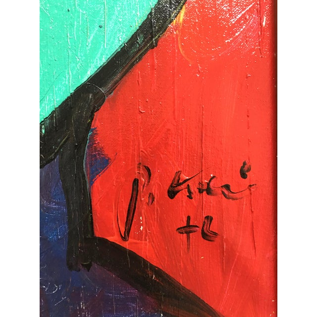 Abstract Expressionism Original Peter Keil Oil Painting on Canvas For Sale - Image 3 of 8