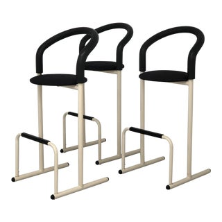 Post Modern Amisco Bar Stools- Set of 3 For Sale