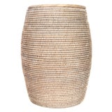 Image of Artifacts Rattan Lidded End Table For Sale
