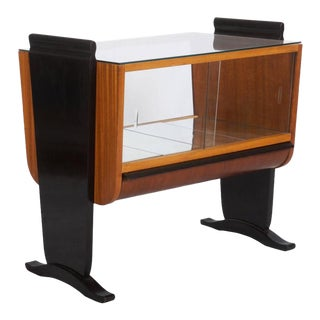 Art Deco Bar Trolley by Jindrich Halabala for UP-Zavody, 1930s For Sale