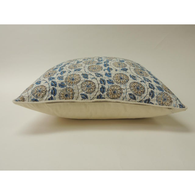 """Islamic Indian Quilted """"Lotus"""" Decorative Pillows For Sale - Image 3 of 6"""