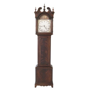 Howard Miller Mahogany Grandfather Clock For Sale