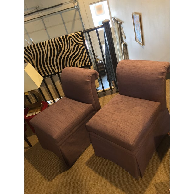 Clean and very lightly used. Higher end Upholstery. 8 way hand tied, dense foam cushions. Fabric is a slubby Linen with...