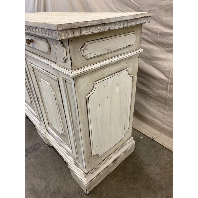 Italian Painted Buffet Cabinet For Sale - Image 4 of 10