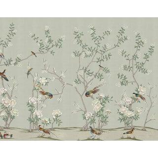 "Casa Cosima Henri Green Wallpaper Mural - 4 Panels 144"" W X 108"" H For Sale"