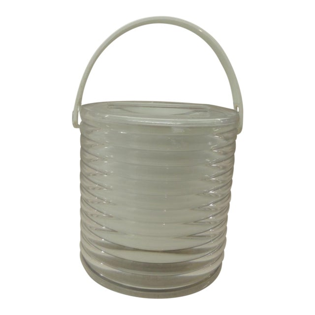 Vintage Lucite Ice Bucket - Image 1 of 4