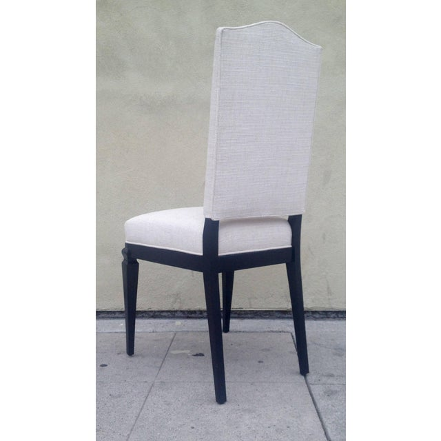 Dining Chairs Att. To André Arbus - Set of 6 For Sale In Los Angeles - Image 6 of 9