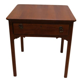 Traditional Solid Cherry Side Table From Lexington Furniture World of Bob Timberlake For Sale