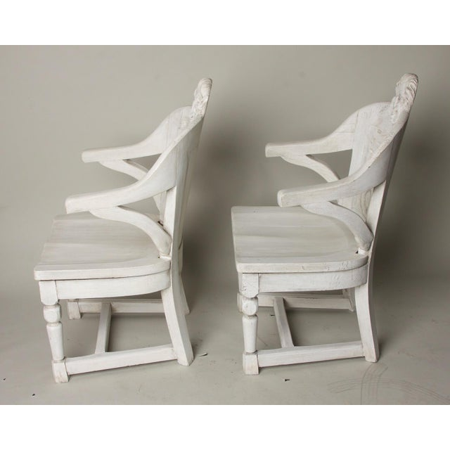 Late 19th Century Antique Anatomical Chairs- A Pair For Sale In Charleston - Image 6 of 9