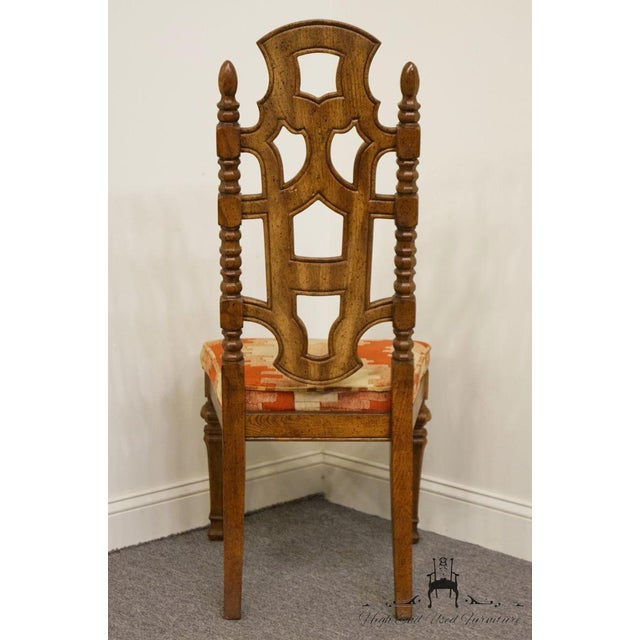 Stanley Furniture Jacobean Style Dining / Side Chair For Sale In Kansas City - Image 6 of 13