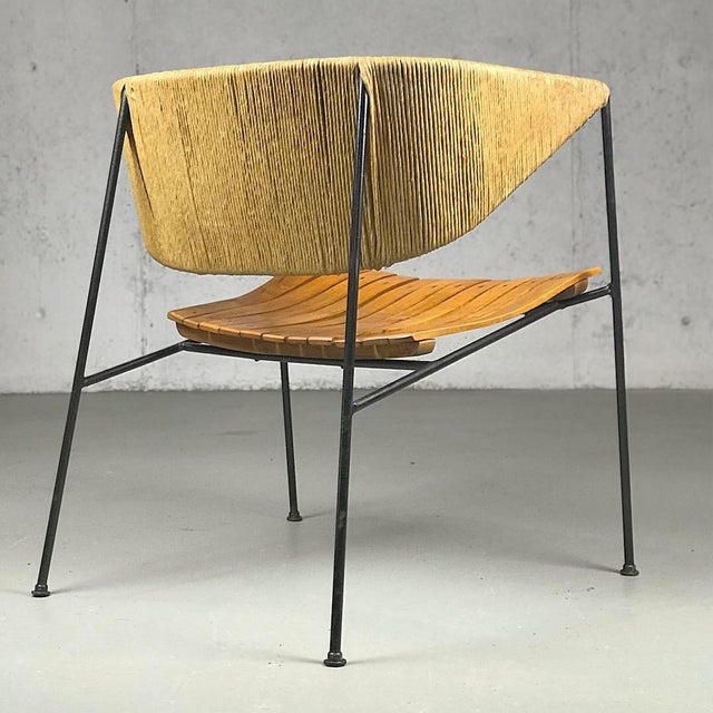 Mid-Century Modern Exceptional 1950's Mid Century Modern Lounge Chair by Arthur Umanoff for Shaver Howard & Raymor For Sale - Image 3 of 13