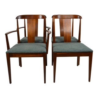Vintage Mid Century Merton L. Gershun for Dillingham Chairs- Set of 4 For Sale