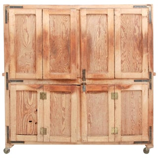 Antique Bread Rising Cupboard For Sale