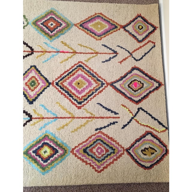 Berber Moroccan-Style Rug - 5′ × 8′ - Image 5 of 9