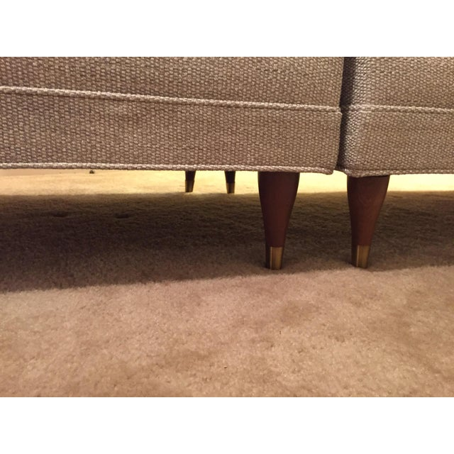 Vintage Mid-Century Sectional Sofa - Image 8 of 9