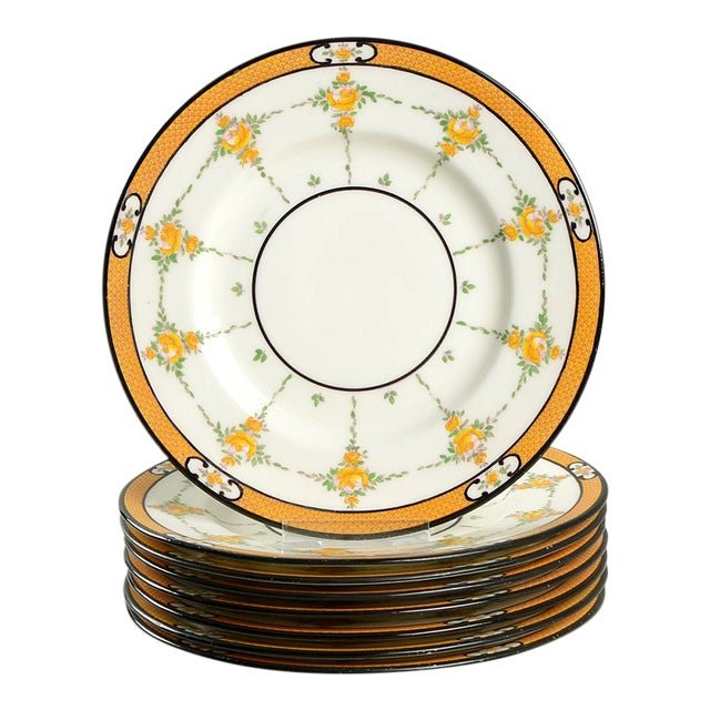 Minton #B930 Salad Plate - Set of 8 For Sale
